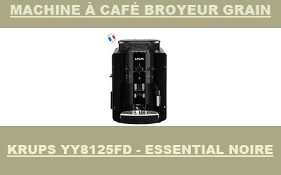 machine Krups YY8125FD - Essential Noire
