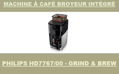 Philips HD7767/00 - Grind & Brew