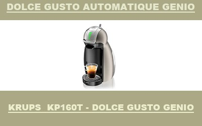 robot Krups Dolce Gusto automatique Genio