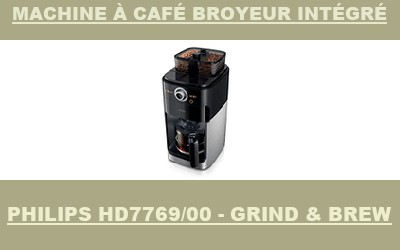 robot Philips HD7769/00 - Grind & Brew